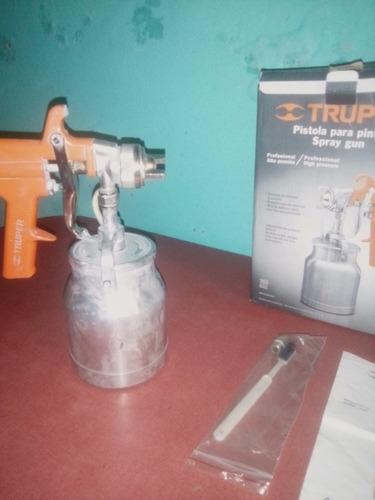 pistola para pintar...truper