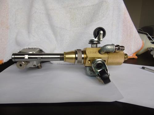 pistola para pintura interna de tubos