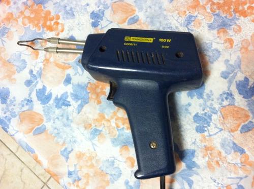 pistola para solda tramontina 100w