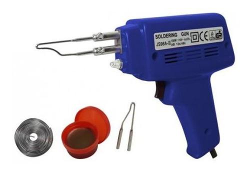 pistola para soldar 100 watt con accesorios  discover