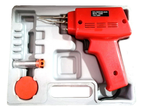 pistola para soldar estaño 150 w 110 v