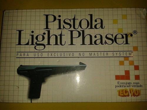 pistola phazer para master system original tectoy