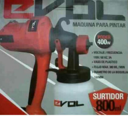 pistola pintar electrica paint zoom maquina  400 w 45 vrd