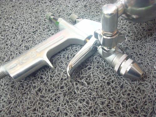 pistola pintar soplete aerografo gravedad pico 0,5 artesano amx k3
