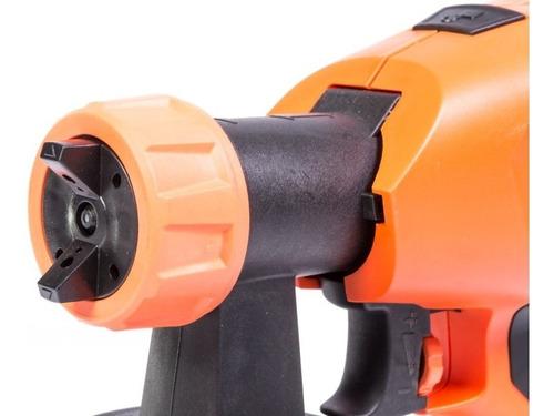pistola pintar volumen alto presion baja 360w hv67 gladiator