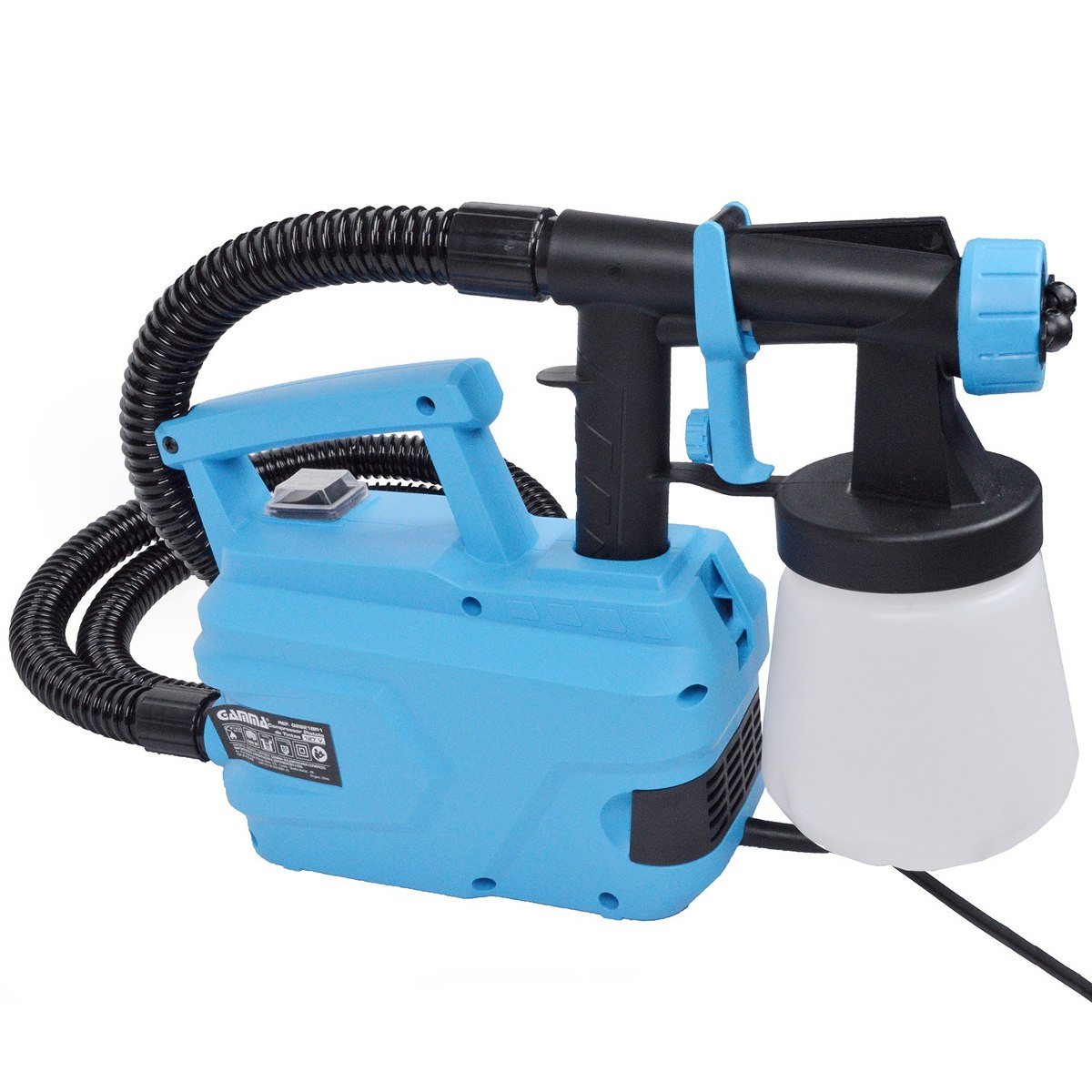 Pistola pintura compressor 500w eletrica 220v gamma g2821 - Pistola pintura compresor ...