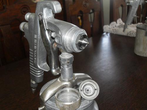 pistola pintura devilbiss sga-800 copo alumínio (revolver)