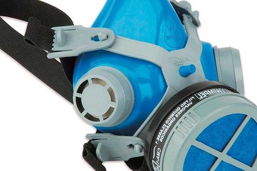 pistola pintura mod 827a1 hvlp gravidade + respirador wimpel