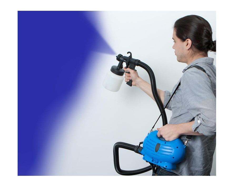 Pistola pintura tinta compressor 110v 650watts frete - Pistola pintura compresor ...