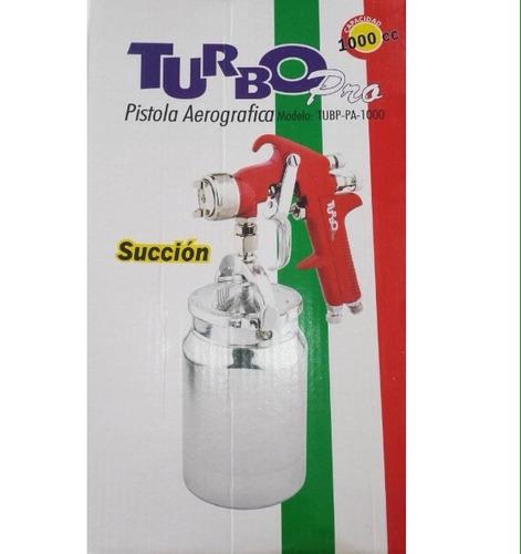 pistola p/pintar succión a.p 1 l pro turbo