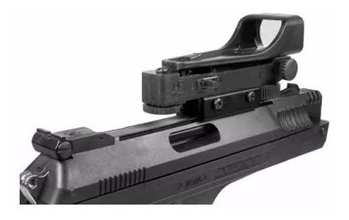 pistola pressão beeman 2006 4.5mm red dot maleta chumbinhos