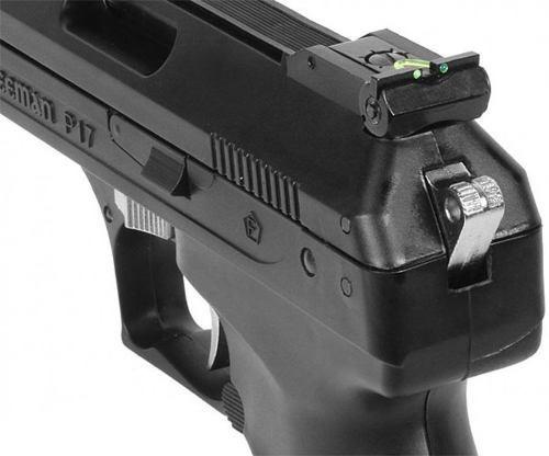 pistola pressão chumbinho rossi beeman 2004 5.5mm deluxe