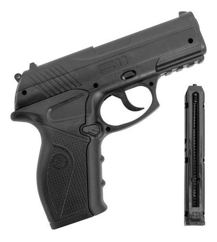 pistola pressão co2 c11 4.5mm crosman
