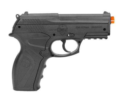 pistola pressão gas co2 wg c11 polímero esferas aço 4,5mm