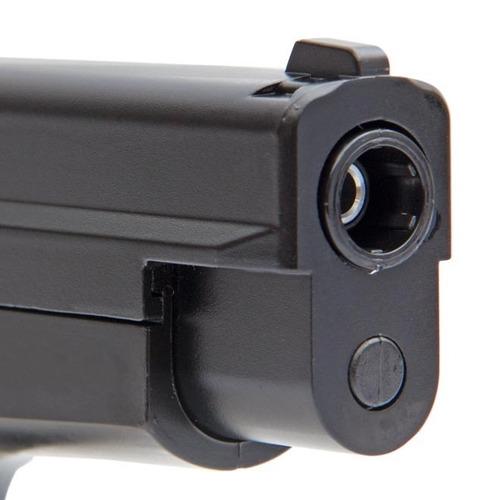 pistola pressão p226 4.5 + maleta + esferas + frete gratis