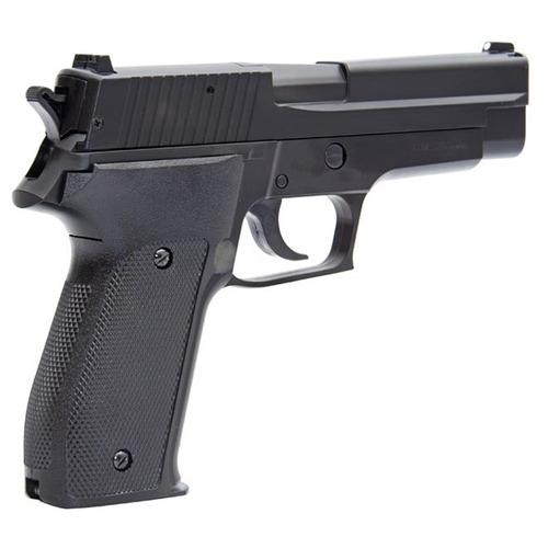 pistola pressão p226 4.5 spring slide metal + esferas + nf