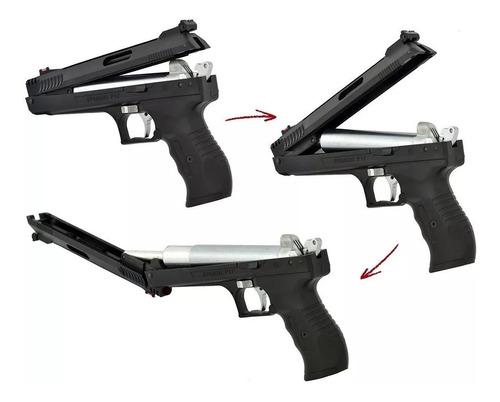pistola pressão rossi beeman deluxe 2004 5.5mm + brindes!!!