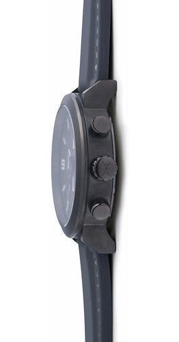 pistola reloj del metal maui aimant hombres de gris con corr