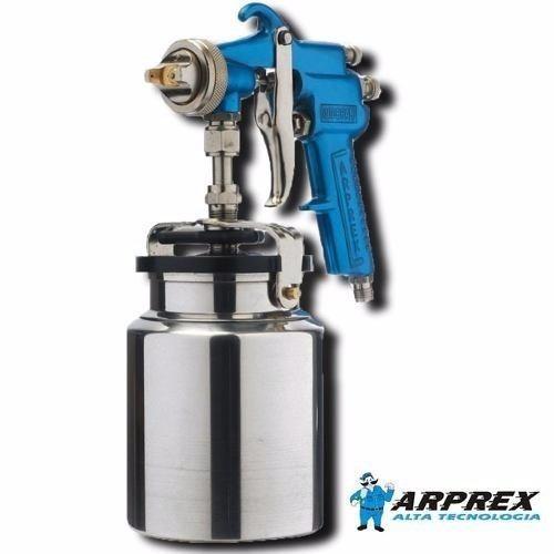 pistola revolver de pintura arprex modelo 2 média pressão