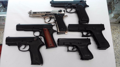 pistola revolver fogueo salva italiana 50 balas envío gratis