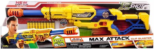 pistola rifle infantil x-shot max attack dardos hasta 17 mts