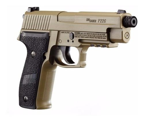 pistola sig sauer p226 co2 de diabolos blowback full metal