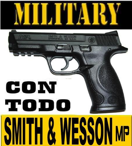 pistola smith y wesson + manifiesto de importacion +regalos
