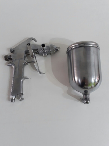 pistola-soplete para pintar-gravedad alta presion