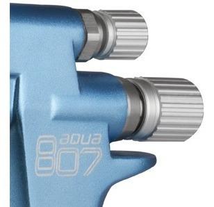 pistola soplete  pintar maer 807 aqua base acuosa y solvente