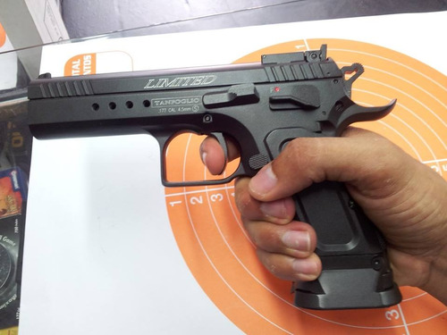 pistola-tanfoglio- limited custom co2-´´(4.5mm)- 300 fps