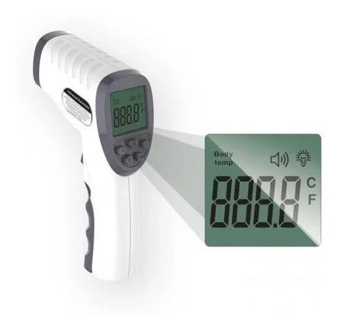 pistola termómetro laser infrarrojo para humanos a bateria