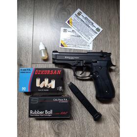 Pistola Traumatica Ekol Firat Compact+50tiros+2 Proveedores