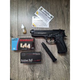 Pistola Traumatica Ekol Firat Mágnum+50tiro+2proveedores