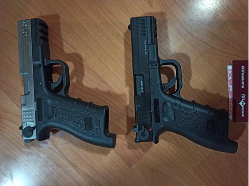 pistola traumática issc glock 17 con obsequio.