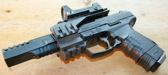 Pistola Walther Cp99 Blowback Nueva +200 Bbs +3 Tanques Co2