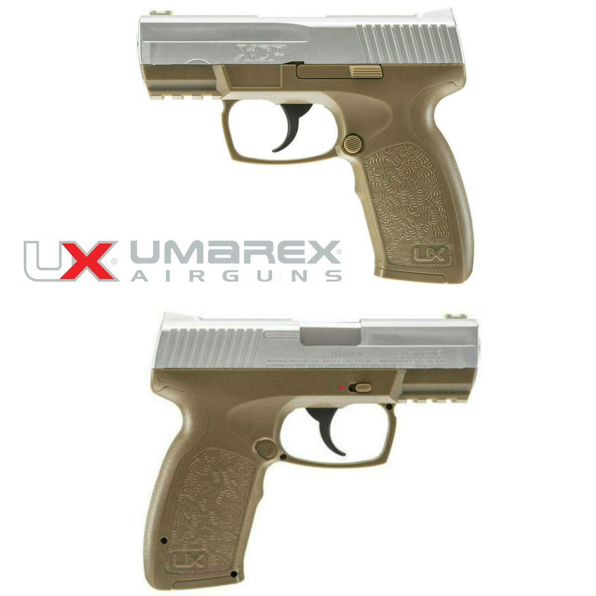 Pistola Xcp Umarex Semi Auto Co2 Postas 20 Tiros 410 Fps