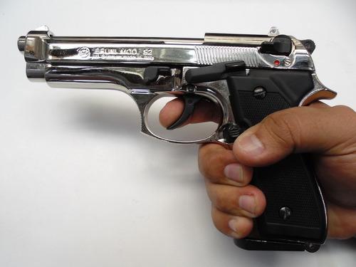 pistolas fogueo salva original italina 50 balas envío gratis