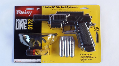 pistolas kit daisy 5172 de co2