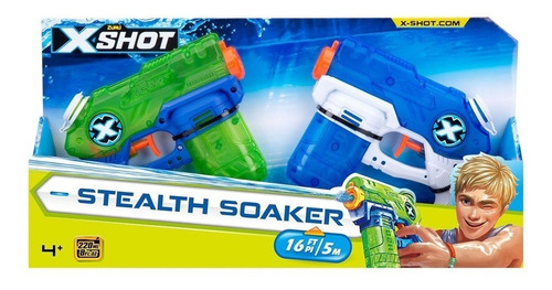 pistolas lanza agua x2 x shot stealth soaker armas de agua