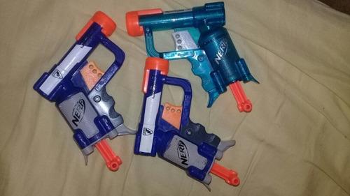 pistolas nerfpistolas usadas de n-strike élitemodelo jolt