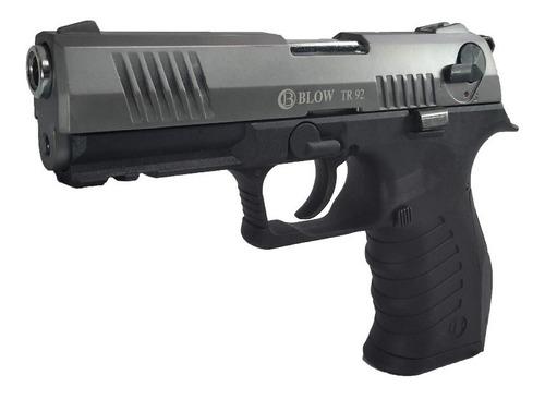 pistolas traumáticas fogueo blow® + 2 proveedores + cepillo