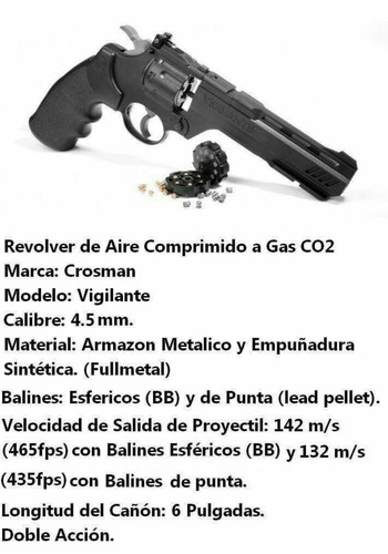 pistolas y revólver a gas