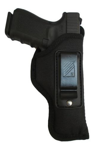 pistolera interna houston fleje metal glock 19 23 dogohunter
