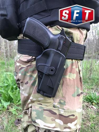 pistolera polimero nivel 2 seguridad bersa - s f t®