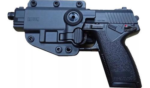 pistolera tactica swiss armsadaptx bersa nivel  ambidistro