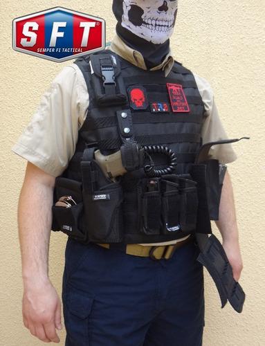 pistolera universal deluxe molle - zurda semper fi tactical®