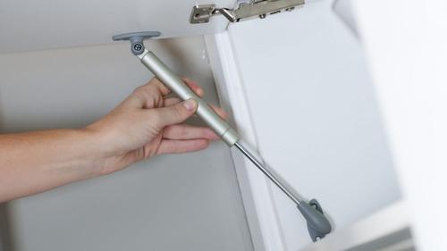 pistón amortiguador de gas para puertas de cocina y closets