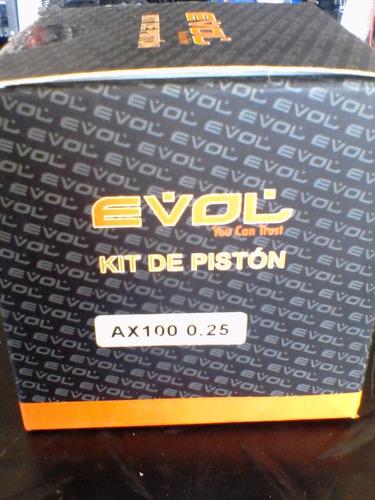 piston ax-100 0,25 evol suzuki oferta