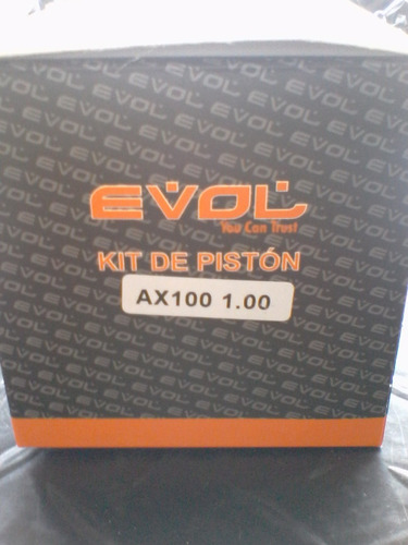 piston ax-100 1,00 evol oferta suzuki