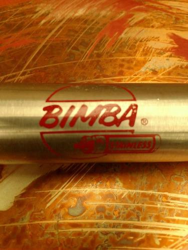 pistón marca bimba cilíndrico doble efecto .